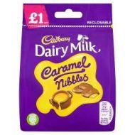 £1.00 Cadburys Caramel Nibbles