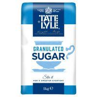 Tate & Lyle 1kg Granulated Sugar