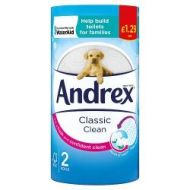 Andrex 2 Roll Toilet Paper