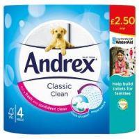 Andrex 4 Roll Toilet Paper
