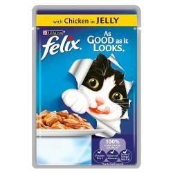 Felix As Good As It Looks Chicken 100g (case)