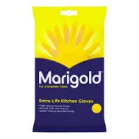 Marigold Rubber Gloves Medium