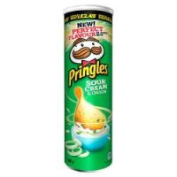 Pringles Sour Cream & 0nion