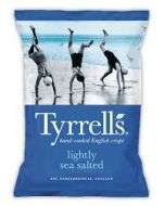 Tyrrell's Lightly Seas Salted Crisp