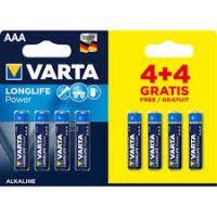 Varta AAA Batteries 4+4