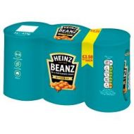 Heinz Baked Beans 3pk