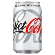 Diet Coke Cans 24x33ml