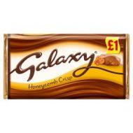 £1.00 Galaxy honeycomb Bar