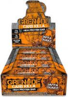 Jaffa Quake Carb Killa Grenade Bar (case)