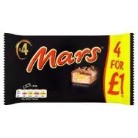 Mars 4 pk £1