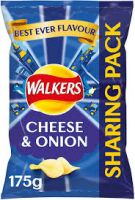 Walkers Cheese & Onion Share Bag
