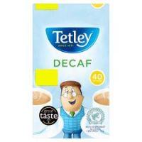 Tetley Decaff Tea Bags 40's pm £1.75